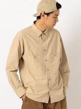ST コットンナイロンツイル ワークシャツ