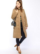 actuel/(W)【YOSOOU】NO-Collar Coat