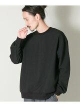 メランジリブロングスリーブTシャツ