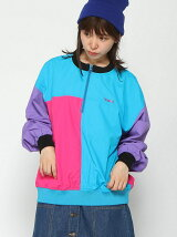 HALF ZIP CRAZY COLOR