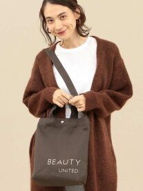 BEAUTY & YOUTH UNITED ARROWS BY キャンバスロゴトートバッグ -2WAY- ビューティ&ユース ユナイテッドアローズ バッグ