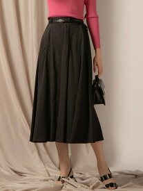 【SALE/70%OFF】VICKY ボリュームフレアスカート ビッキー スカート ロングスカート ブラック ピンク