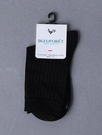 UNITED ARROWS <BLEU FORET(ブルーフォレ)>RIB CTN ソックス ユナイテッドアローズ ファッショングッズ ソックス/靴下 ブラック ホワイト