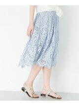 ギャザーレーススカート