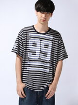 THE NUMBERS BORDER TEE