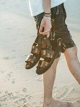 Gaudy sandals