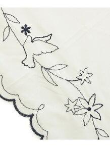 フラワー刺繍折り畳み傘