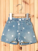 SHORT PANTS STAR EMBROIDERY (12M~3T)/パンツ