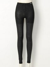 (W)W's HEAT NAVI Herringbone Leggings