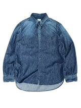 TOWNCRAFT/(M)DENIM REG BD SHIRTS