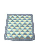ダイヤ幾何学柄スカーフ