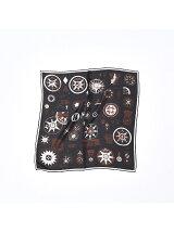 Manipuri 別注プリントスカーフ(53×53)