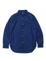 TOWNCRAFT/(M)OXFORD BD SHIRTS INDIGO