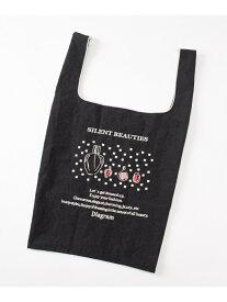 GRACE CONTINENTAL 【Diagram × Ball&Chain】コラボ Eco Bag グレースコンチネンタル バッグ エコバッグ/サブバッグ ブラック【送料無料】