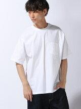 BEAMS / ウーブン ポケットTシャツ