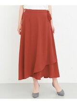 KBF+ ラップロングスカート