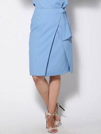 【SALE/70%OFF】Viaggio Blu アムンゼンウエストリボンスカート ビアッジョブルー スカート スカートその他 ブルー ネイビー ブラウン【送料無料】