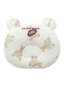 gelato pique ベアモチーフ baby ピロー ジェラートピケ マタニティー/ベビー ベビー用品 ホワイト