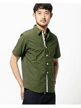 BEAMS / パラシュートボタン ミニレギュラー半袖シャツ