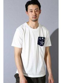 【SALE/50%OFF】BLUE TORNADO∴さがら刺?ポケットTee トルネードマート カットソー【RBA_S】【RBA_E】