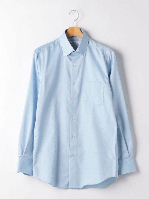 UNITED ARROWS green label relaxing (ユナイテッドアローズ グリーンレーベルリラクシング) スリムEASYIRONドビーショートボタンダウンドレスシャツ