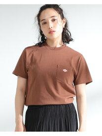 【SALE/30%OFF】Ray BEAMS DANTON / ポケット Tシャツ(0006.CL) ビームス ウイメン カットソー Tシャツ ブラウン【送料無料】