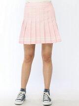 【BROWNY STANDARD】(L)無地プリーツミニスカート【ガールズアワード】