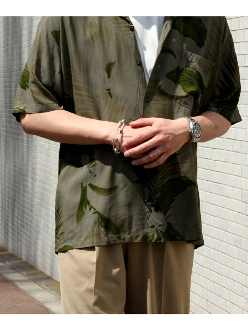 《予約》【TWO PALMS HAWAIIAN WEAR】 別注 DYED ALOHA SHIRT