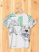 'Disco Jungle' multi-icon T-shirt