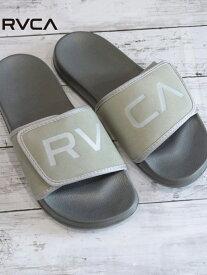 【SALE/20%OFF】RVCA (M)RVCA/RVCA-VELCRO SLIDER-サンダル ジャックローズ シューズ サンダル/ミュール グレー ブラック