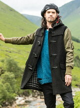 Glover duffle coat by Gloverall