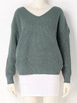 Back Cross Knit