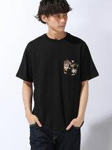 BEAMS / アロハ ポケット Tシャツ