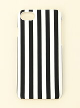 (U)iPhone7対応 ストライプアイフォンケース