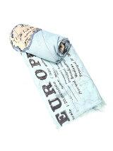 レトロマッププリントスカーフ