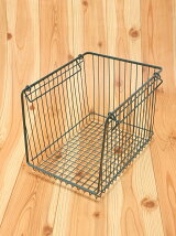 WIRESTORAGEOPENBASKETA4L/グリーン