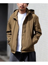 Memory Twill Stand Hood BLOUSON