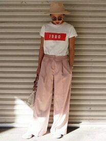 【SALE/57%OFF】TODAYFUL Satin Trousers トゥデイフル パンツ/ジーンズ ワイド/バギーパンツ ピンク イエロー【送料無料】