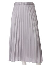 《INED》メタルラメプリーツスカート