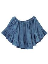 offshoulder flare blouse