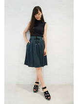 FOLD LACE DOWN SKIRT