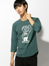 GOOD ON/(M)GO GOOD ON BOY BASEBALL TEE