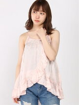 (W)MANSI FLOUNCE LACE TOP