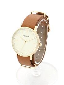 LEPSIM B/チェンジベルトウォッチ5 レプシィム ファッショングッズ 腕時計 ブラウン ベージュ ブラック