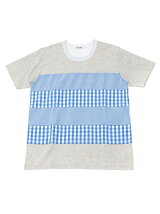 ALOYE × BEAMS T / 別注 Shirt Fabric Short Sleeve Tee
