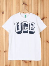 (K)デザインロゴベーシックTシャツ・カットソーUF