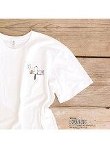 PEANUTS × AuBANNISTER Tシャツ