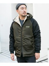 MAGIC NUMBER BOMBER HOODIE JACKET