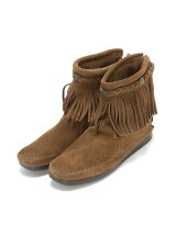 MINNETONKA/(L)HI TOP BACK ZIP BOOT 293