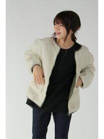 【SALE/70%OFF】ikka 2WAYボアブルゾン イッカ コート/ジャケット ブルゾン グリーン ブラック ベージュ